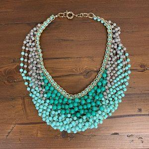 Jewelry - Green bib necklace